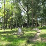 Общий вид кладбища в г. Браславе