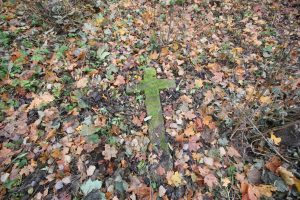 Немецкое захоронение Первой мировой войны в деревне Дворчаны Поставского района-3