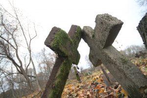 Немецкое захоронение Первой мировой войны в деревне Дворчаны Поставского района-6