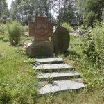 Поповцы. Сельское кладбище 2014 г