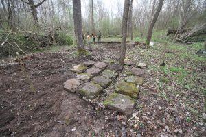 Смешанное захоронение Первой мировой войны у деревни Можейки Поставского района