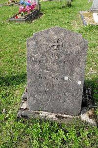 Немецкие могилы на гражданском кладбище в деревне Свилели Поставского района-2