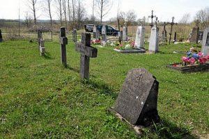 Немецкие могилы на гражданском кладбище в деревне Свилели Поставского района-1