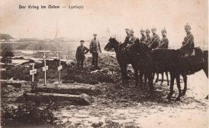 Смешанное захоронение Первой мировой войны в аг. Лынтупы Поставского района-8
