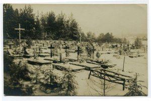 Смешанное захоронение Первой мировой войны в аг. Лынтупы Поставского района-7