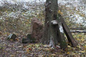 Немецкое кладбище Первой мировой войны около деревни Соловьи Поставского района-3