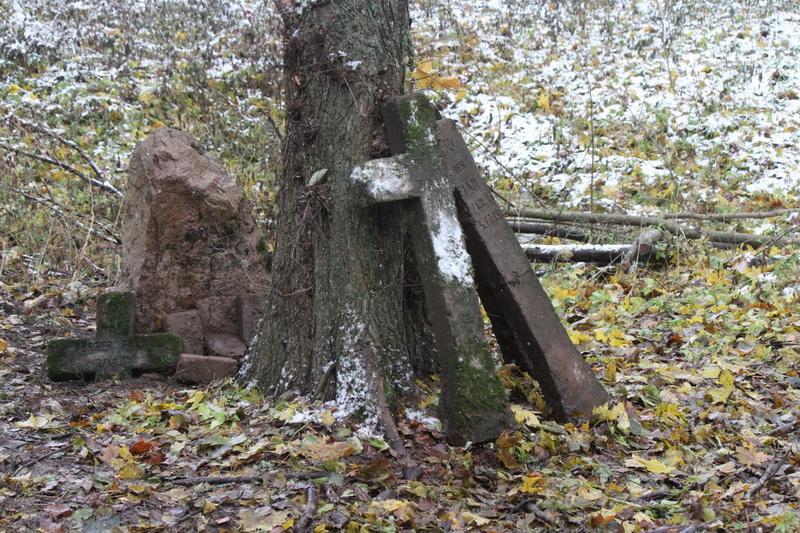 Немецкое кладбище Первой мировой войны около деревни Соловьи Поставского района-2