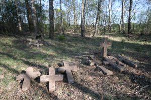 Немецкое кладбище Первой мировой войны в деревне Свилели Поставского района-3
