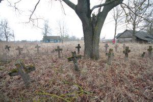 Немецкое кладбище Первой мировой войны в деревне Ярево Поставского района-1