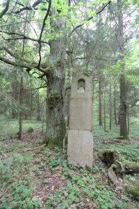 Немецкое кладбище Первой мировой войны около деревни Филипповцы Поставского района-5