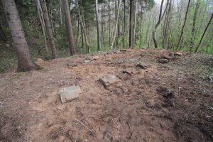 Смешанное захоронение Первой мировой войны около деревни Петровщина Поставского района-2