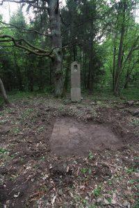 Немецкое кладбище Первой мировой войны около деревни Филипповцы Поставского района-3