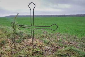 Русское кладбище Первой мировой войны в деревне Сивцы Поставского района-3