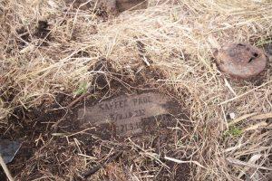 Немецкое кладбище Первой мировой войны около деревни Микулишки Поставского района-3