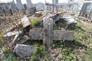 Могилы воинов Русской императорской армии на городском кладбище в городе Поставы по улице Тихой-3
