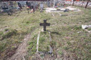 Могилы воинов Русской императорской армии на городском кладбище в городе Поставы по улице Тихой-1