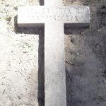 Крест прапорщика Теллера на кладбище в Мулярах - свидетельство переноса сюда воинского кладбища из ф. Крестинаполь.