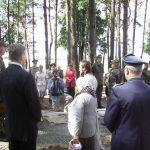 Панихида по погибшим на кладбище в Мулярах, на открытии его после реконструкции немецкими резервистами Бундесвера. 10 июня 2009 г.