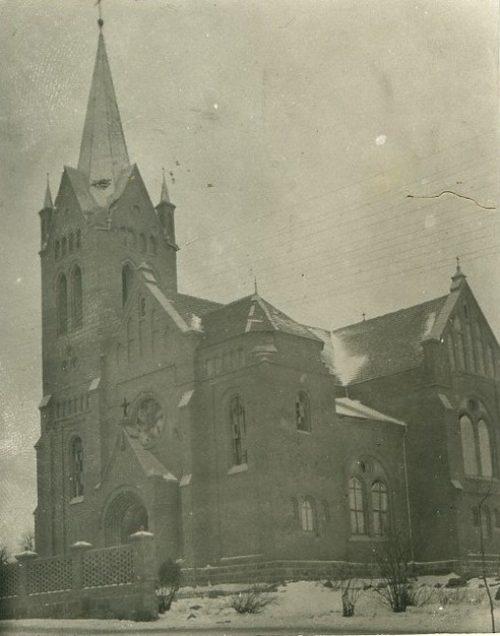 Вилейка костел 1915-16 г